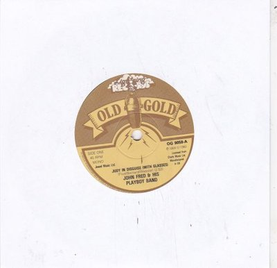 John Fred - Judy in disguise + When the lights go out (Vinylsingle)