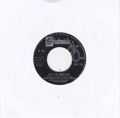 John Fred - Judy in disguise + Out of left field (Vinylsingle)