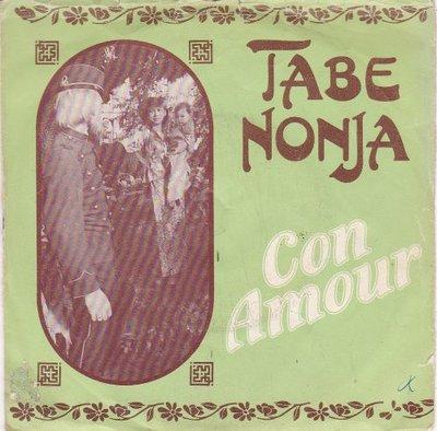 Con Amour - Tabe Nonja + Ik ben zo allleen (Vinylsingle)