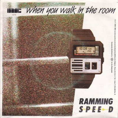 Ramming Speed - When You Walk In The Room + (Instrumental) (Vinylsingle)