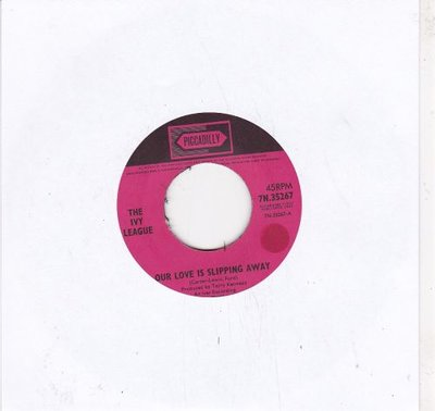 Ivy League - Our Love Is Slipping Away + I Could Make You Fall In Love (Vinylsingle)