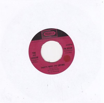 Ivy League - That's why I'm crying + A girl like you (Vinylsingle)