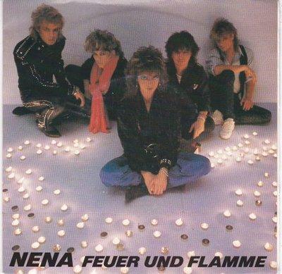 Nena - Feuer und flamme + Woman on fire (Vinylsingle)