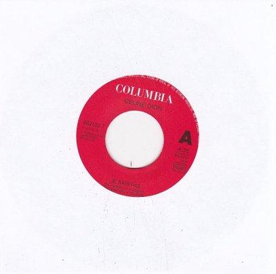 Celine Dion - Je Sais Pas + La Memoire D'Abraham (Vinylsingle)