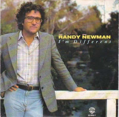 Randy Newman - I'm Different + Song For The Dead (Vinylsingle)
