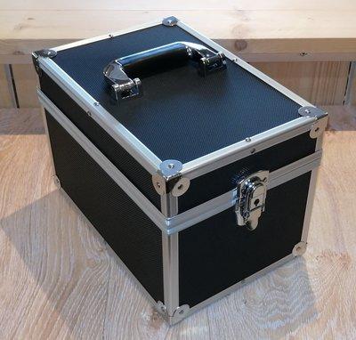 Vinylsingle Koffer Zwart - per stuk