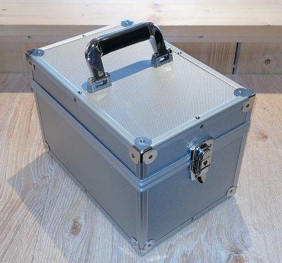 Vinylsingle Koffer Zilver - per stuk