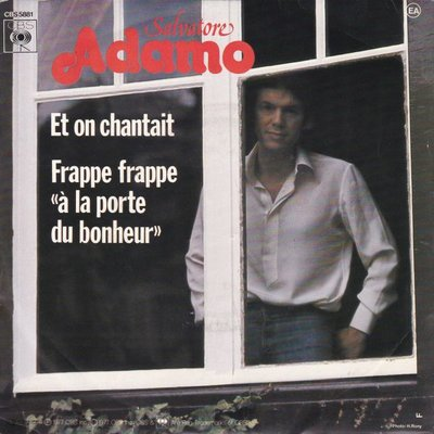 Adamo - Et on chantait + Frappe frappe (Vinylsingle)