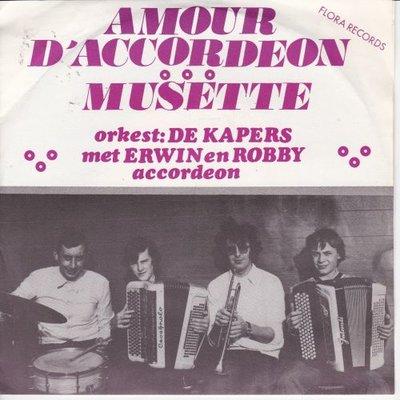 De Kapers - Amour D'Accordeon + Musette (Vinylsingle)