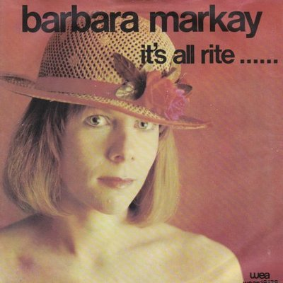 Barbara Markay - It's all rite + (Censored version) (Vinylsingle)
