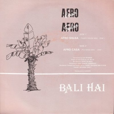 Bali Hai - Afro Casa + Afro Salsa (Vinylsingle)