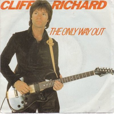 Cliff Richard - The only way out + Under the influence (Vinylsingle)