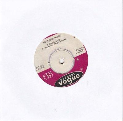 Francoise Hardy - L'amour s'en va + Je pense a lui (Vinylsingle)