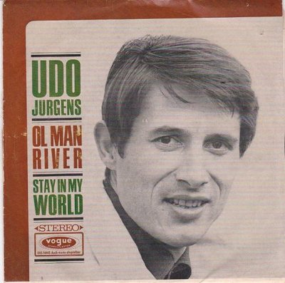 Udo Jurgens - Ol Man river + Stay in my world (Vinylsingle)