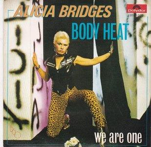 Alicia Bridges - Body Heat + We are one (Vinylsingle)