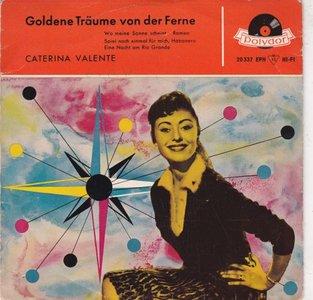 Caterina Valente - Goldene traume von der Ferne (Vinylsingle)