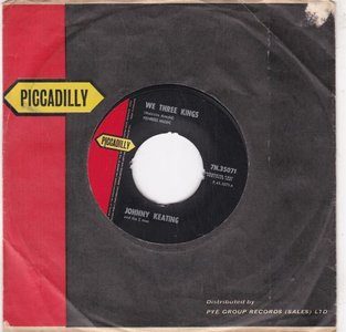Johnny Keating - We Three Kings + Four Beats To The Casbah (Vinylsingle)