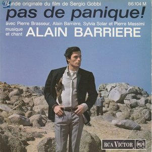 Alain Barriere - Pas De Panique (EP) (Vinylsingle)