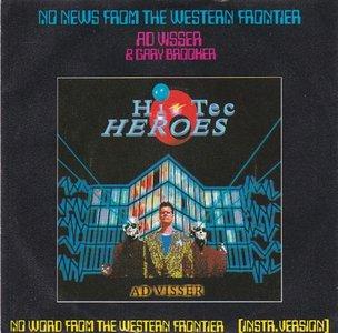 Ad Visser - No news from the western frontier + (instr.) (Vinylsingle)
