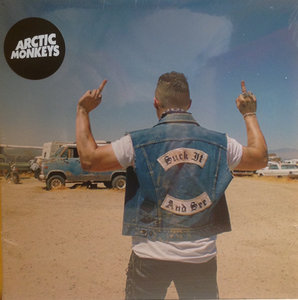 Arctic Monkeys - Suck it and see + Evil twin (Vinylsingle)
