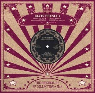 """ELVIS PRESLEY - THE ORIGINAL U.S. EP COLLECTION NO. 4 (10"""" VINYL) (Vinyl LP)"""