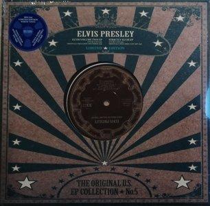 """ELVIS PRESLEY - THE ORIGINAL U.S. EP COLLECTION NO. 5 (10"""" VINYL) (Vinyl LP)"""