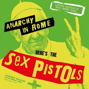 SEX PISTOLS - ANARCHY IN ROME -COLOURED VINYL (Vinyl LP)