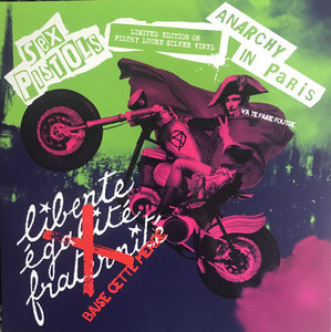 SEX PISTOLS - ANARCHY IN PARIS -COLOURED VINYL (Vinyl LP)