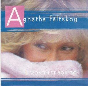 Agnetha Faltskog - I won't let you go + You're there (Vinylsingle)