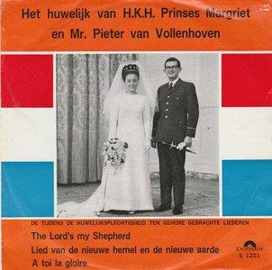 Koninklijke Militaire Kapel  - The Lord's My Shepherd + Het Lied van Nieuwe Hemel En Aarde (Vinylsingle)
