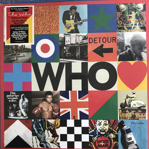 THE WHO - THE WHO -LIMITED EDITION DOUBLE ALBUM- (Vinyl LP)