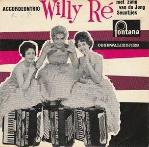 Accordeontrio Willy Re - Ossewaliedjes (EP) (Vinylsingle)
