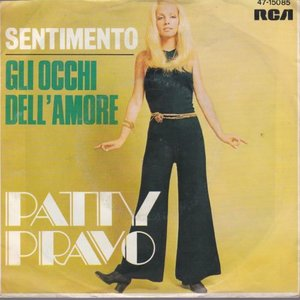 Patty Pravo - Gli Occhi Dell'Amore + Sentimento (Vinylsingle)