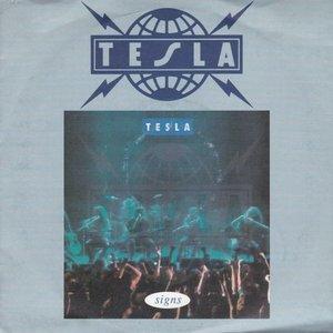Tesla - Signs + Down fo boogie (Vinylsingle)