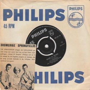 Springfields - Island of dreams + The Johnson boys (Vinylsingle)