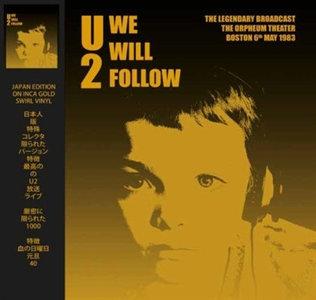 U2 - WE WILL FOLLOW -COLOURED VINYL- (Vinyl LP)
