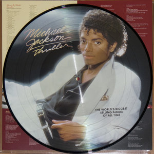 MICHAEL JACKSON - THRILLER -PICTURE DISC- (Vinyl LP)
