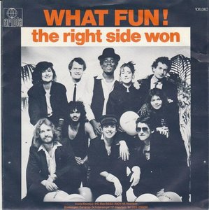 What Fun! - The right side won + (instr.) (Vinylsingle)