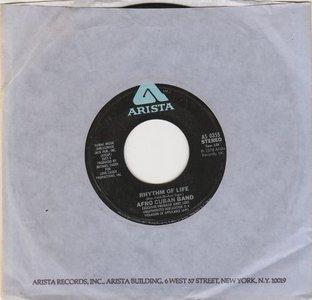 Afro Cuban band - Rhythm Of Life + You're Like (Vinylsingle)