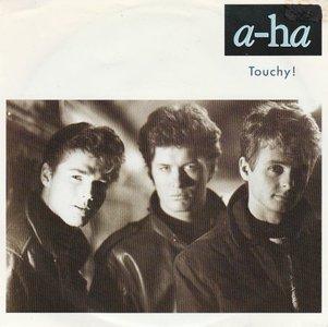 Aha - Touchy! + Hurry home (Vinylsingle)