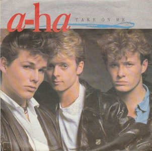 Aha - Take on me + Love is reason (Vinylsingle)