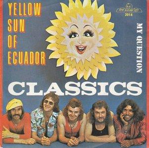 Classics - Yellow sun of Ecuador + My question (Vinylsingle)