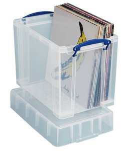 Really Usefull Box 19 liter (voor 50 vinyl Lp's) - per stuk