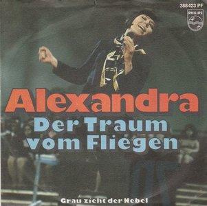 Alexandra - Der Traum Vom Fliegen + Grau Zieht Der Nebel (Vinylsingle)