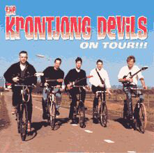 Krontjong Devils - On Tour ! (Vinyl LP)