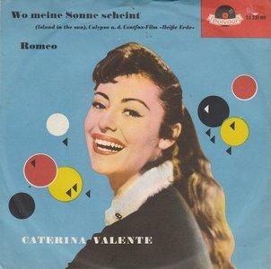 Caterina Valente - Wo Meine Sonne Scheint + Romeo (Vinylsingle)