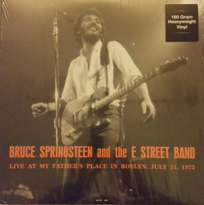 BRUCE SPRINGSTEEN - LIVE AT MY FATHER'S PLACE 1973 -COLOURED- (Vinyl LP)