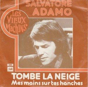 Adamo - Tombe la neige + Mes mains sur tes hanches (Vinylsingle)