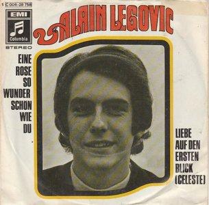 Alain Legovic - Eine rose so wunderschon wie du-Liebe auf den ersten blick (Vinylsingle)