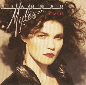 Alannah Myles - Love is + Rock this joint (Vinylsingle)